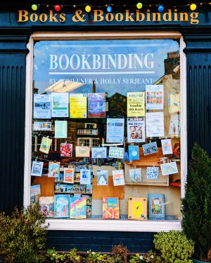 A Tour of Scrivener's Books & Bookbinding