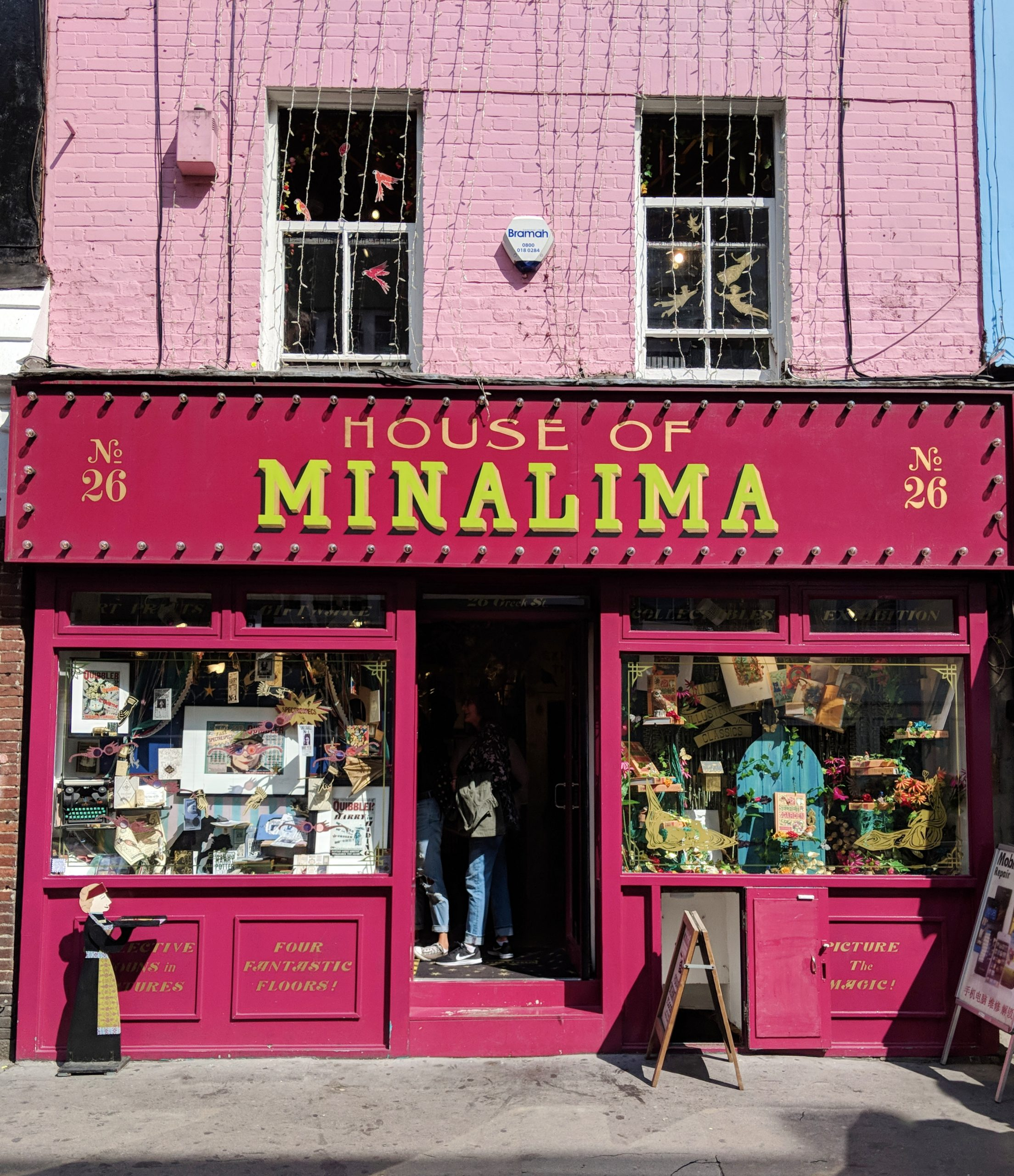 A Visit to the Magical House of MinaLima, London