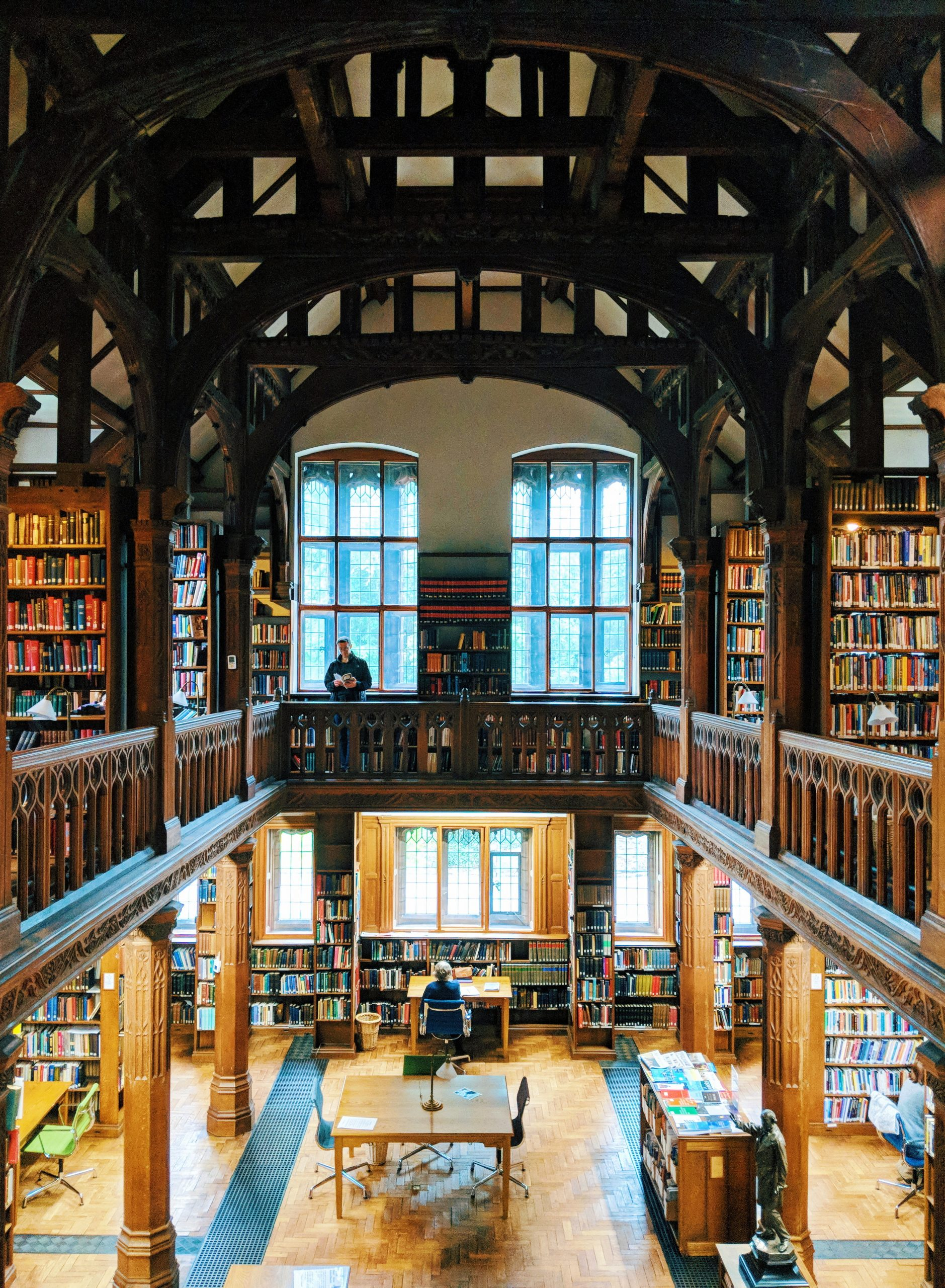 Staying Overnight at Gladstone's Library