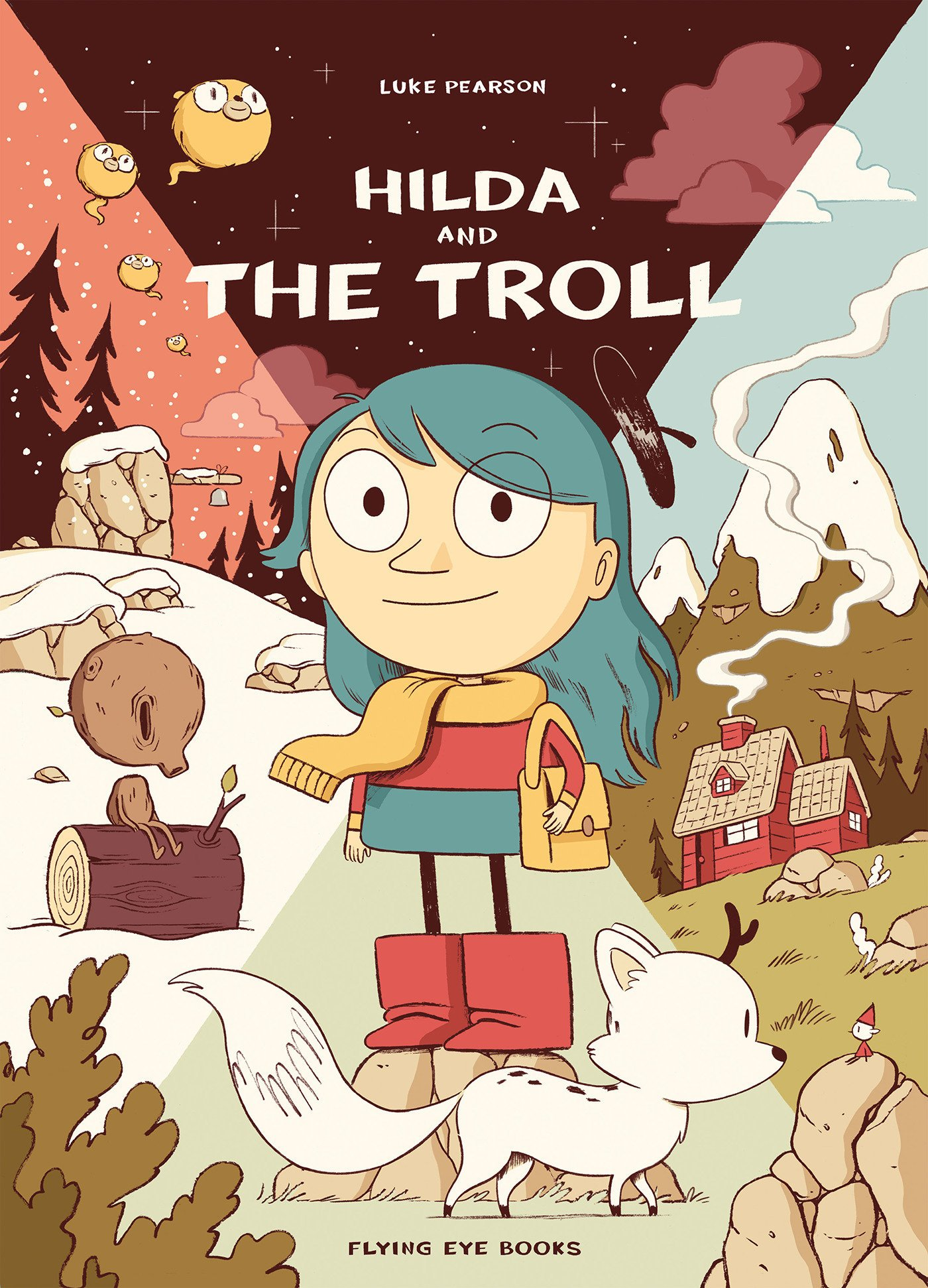 Children's Book Review : Hilda and the Troll by Luke Pearson