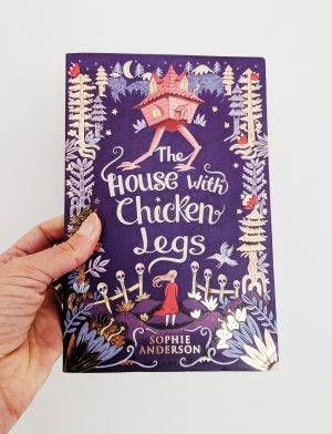 Book Cover of The House with Chicken Legs Melissa Castrillon