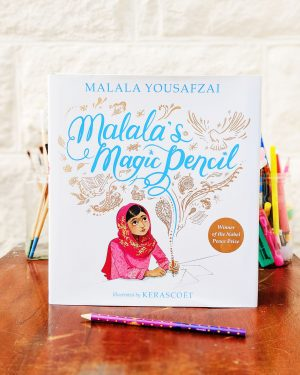 Malala's Magic Pencil Malala Yousafzai Book Cover
