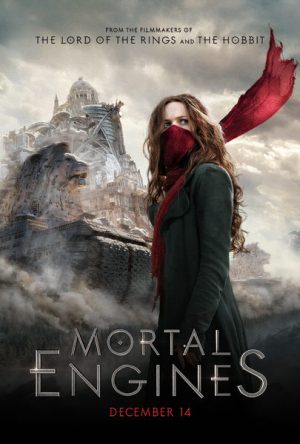 Film Poster Mortal Engines Philip Reeve Hester Shaw