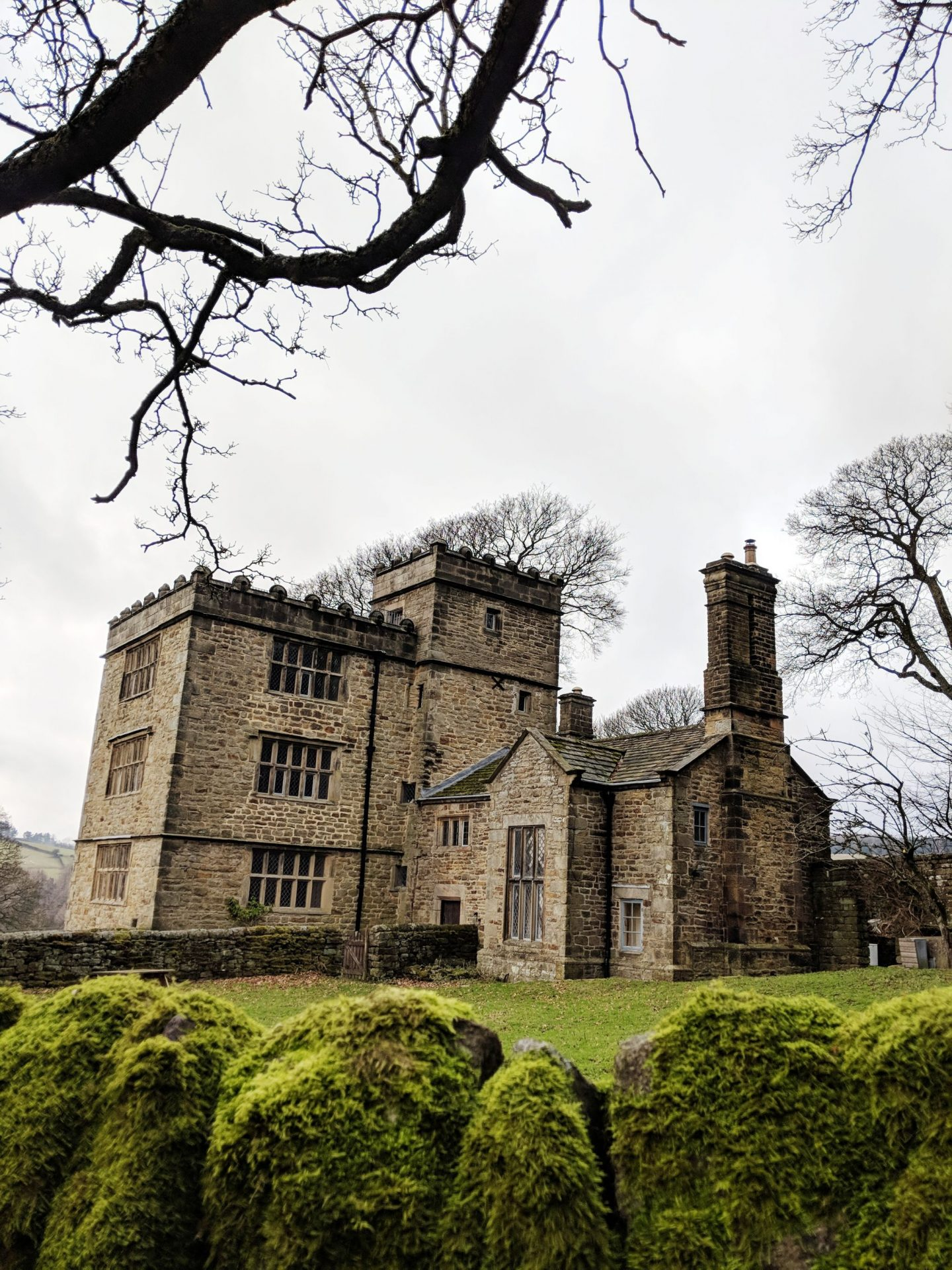 North Lees Hall (Thornfield Hall) on the Jane Eyre Trail