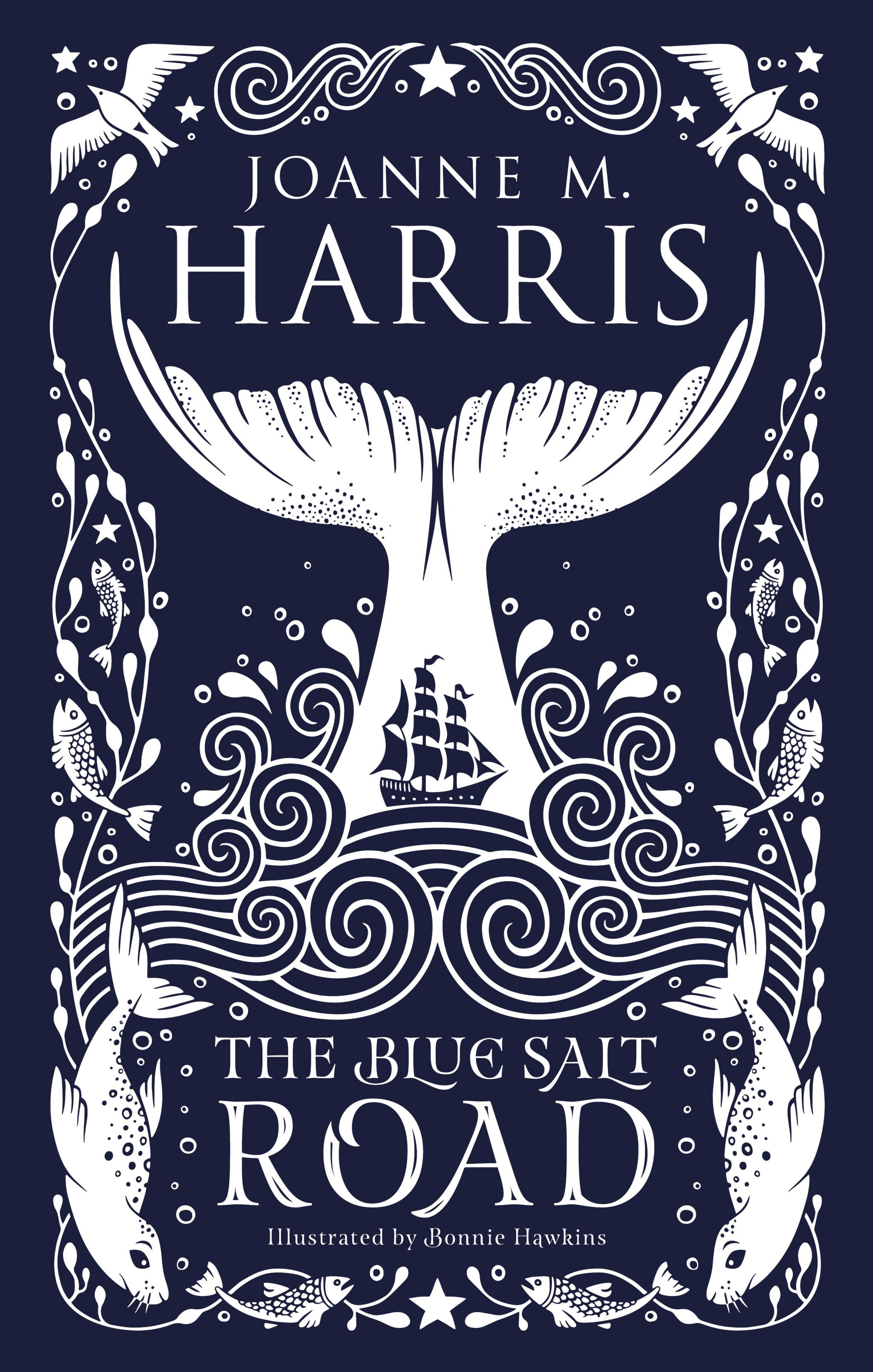 The Blue Salt Road By Joanne Harris Book Cover