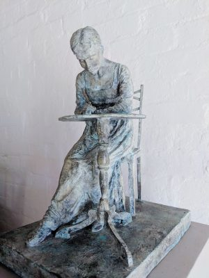 Jane Austen sculpture