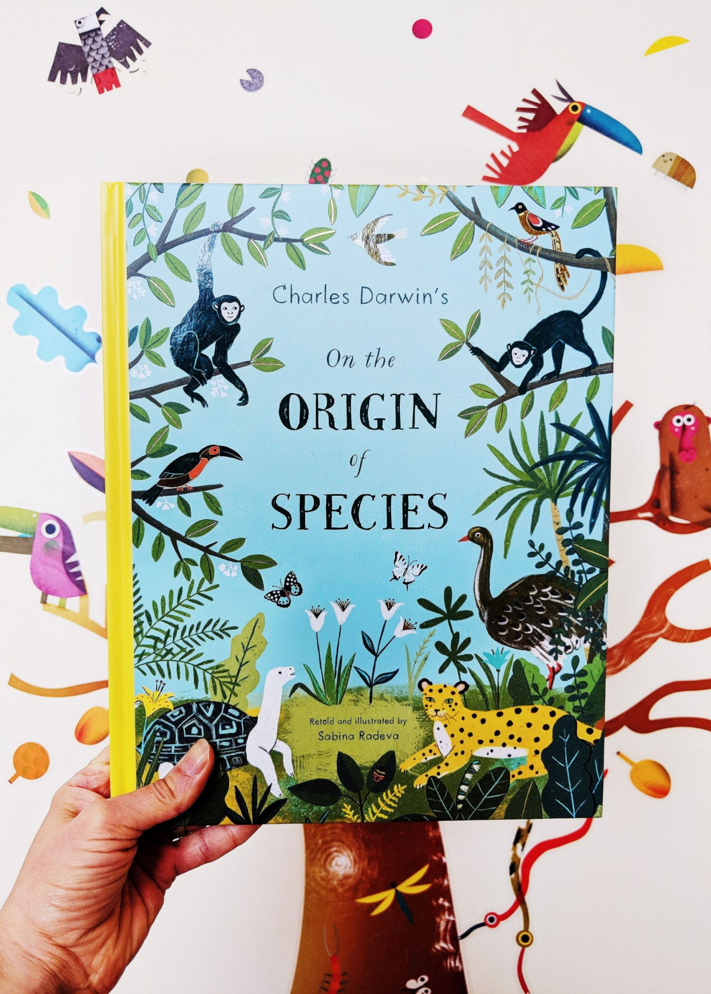 Children's Book Review: On the Origin of Species Retold by Sabina Radeva
