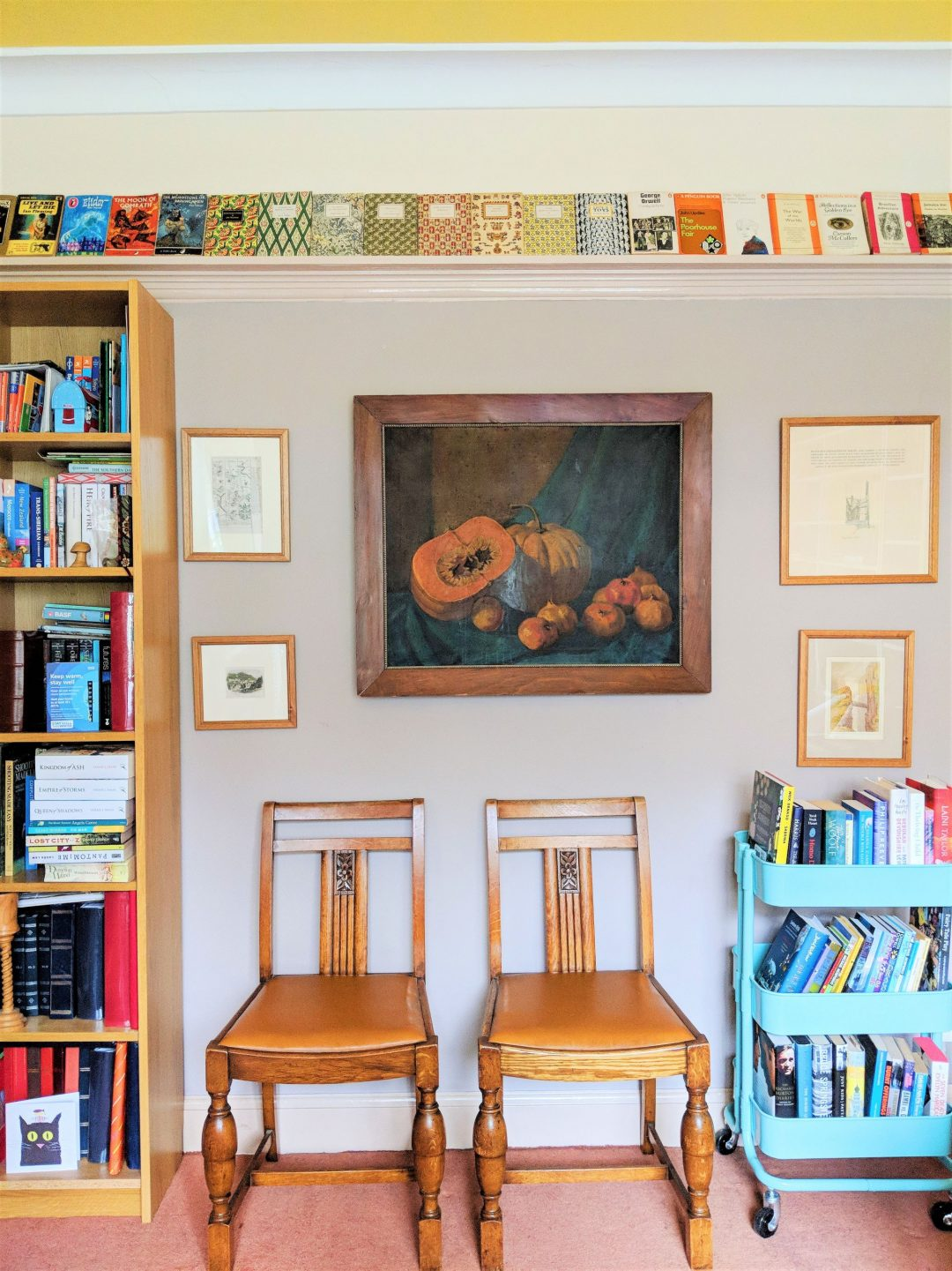 4 Creative Ways to Display Your Books