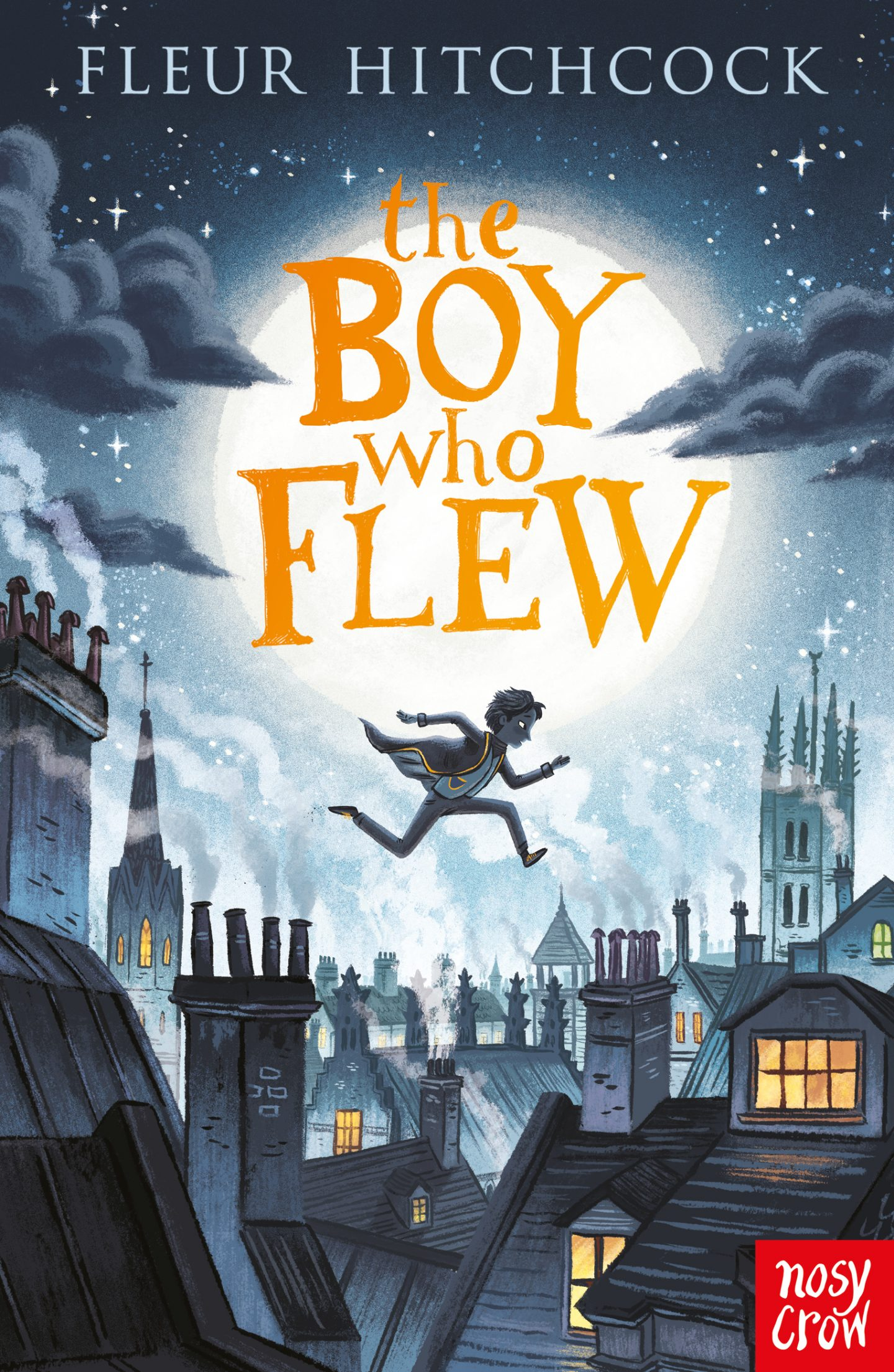 Children's Book Review: The Boy Who Flew by Fleur Hitchcock