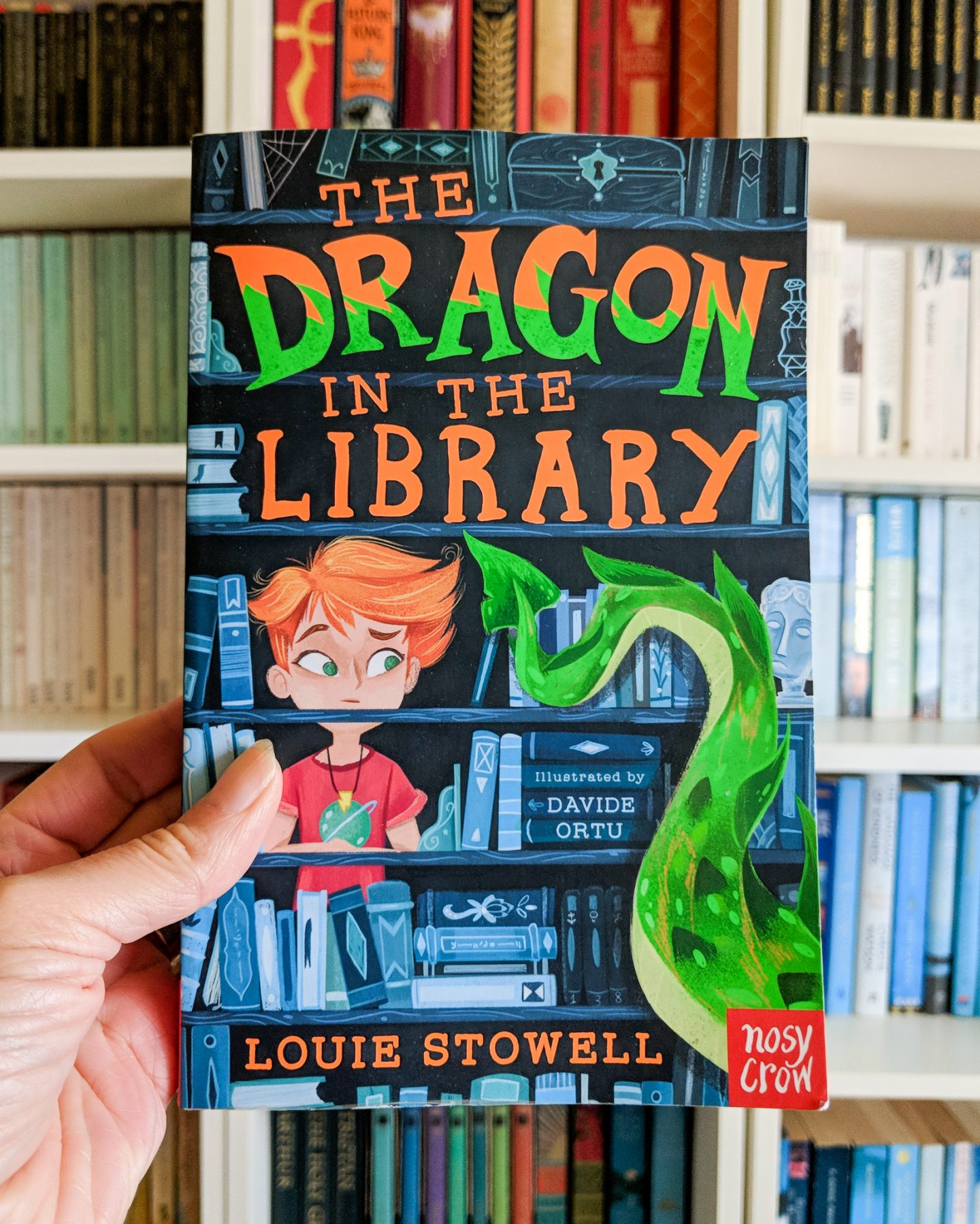 Children's Book Review: The Dragon in the Library by Louie Stowell
