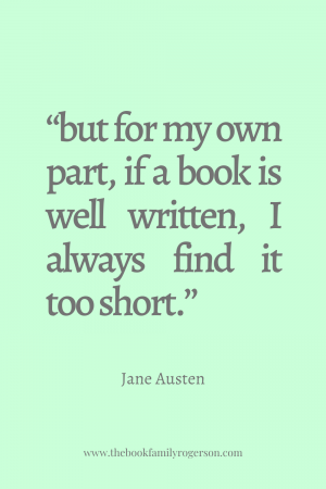 Jane Austen Book Quote