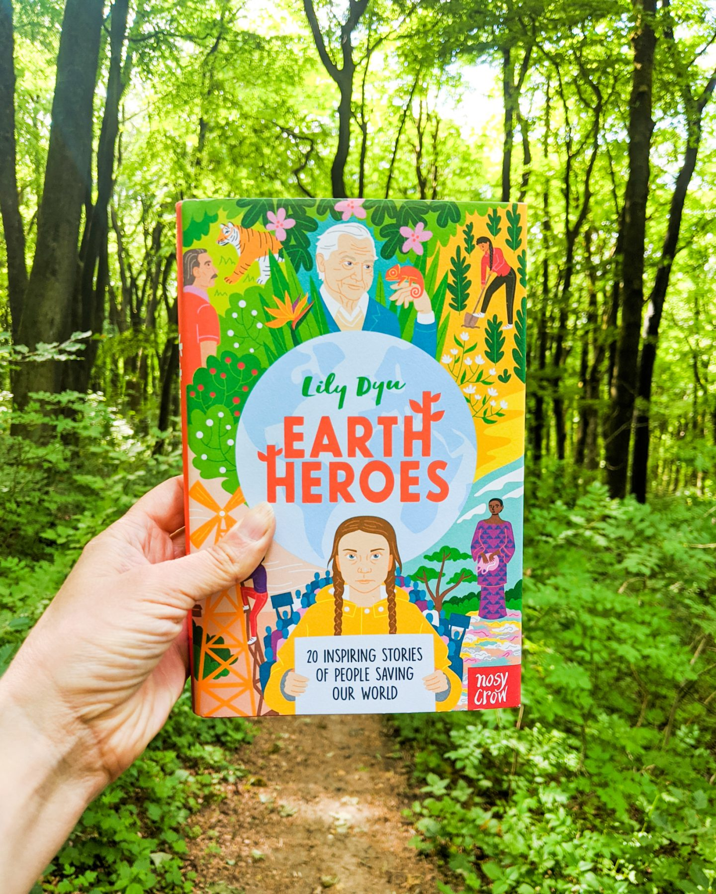 Children's Book Review: Earth Heroes by Lily Dyu