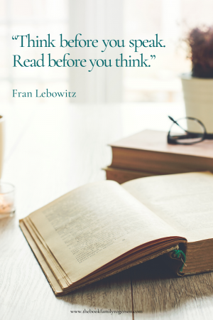 Bookish Quote Fran Lebowitz