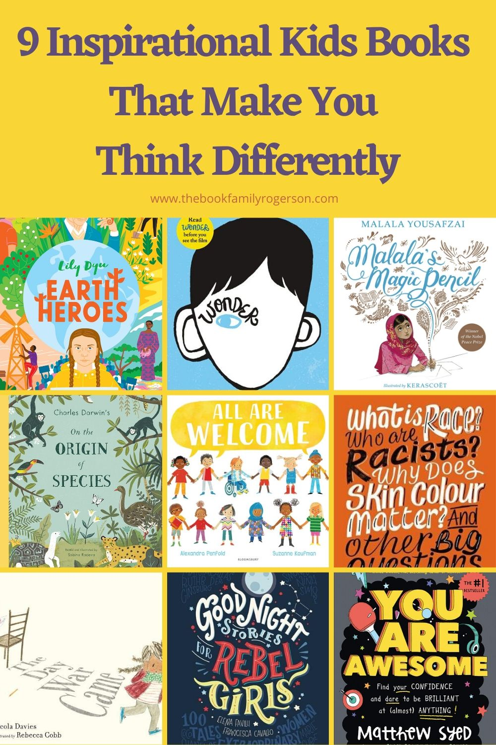 9 Inspirational Kids Books That Make You Think Differently