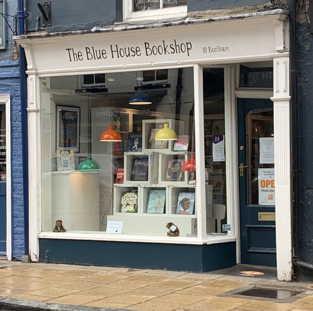 The Blue House Bookshop York
