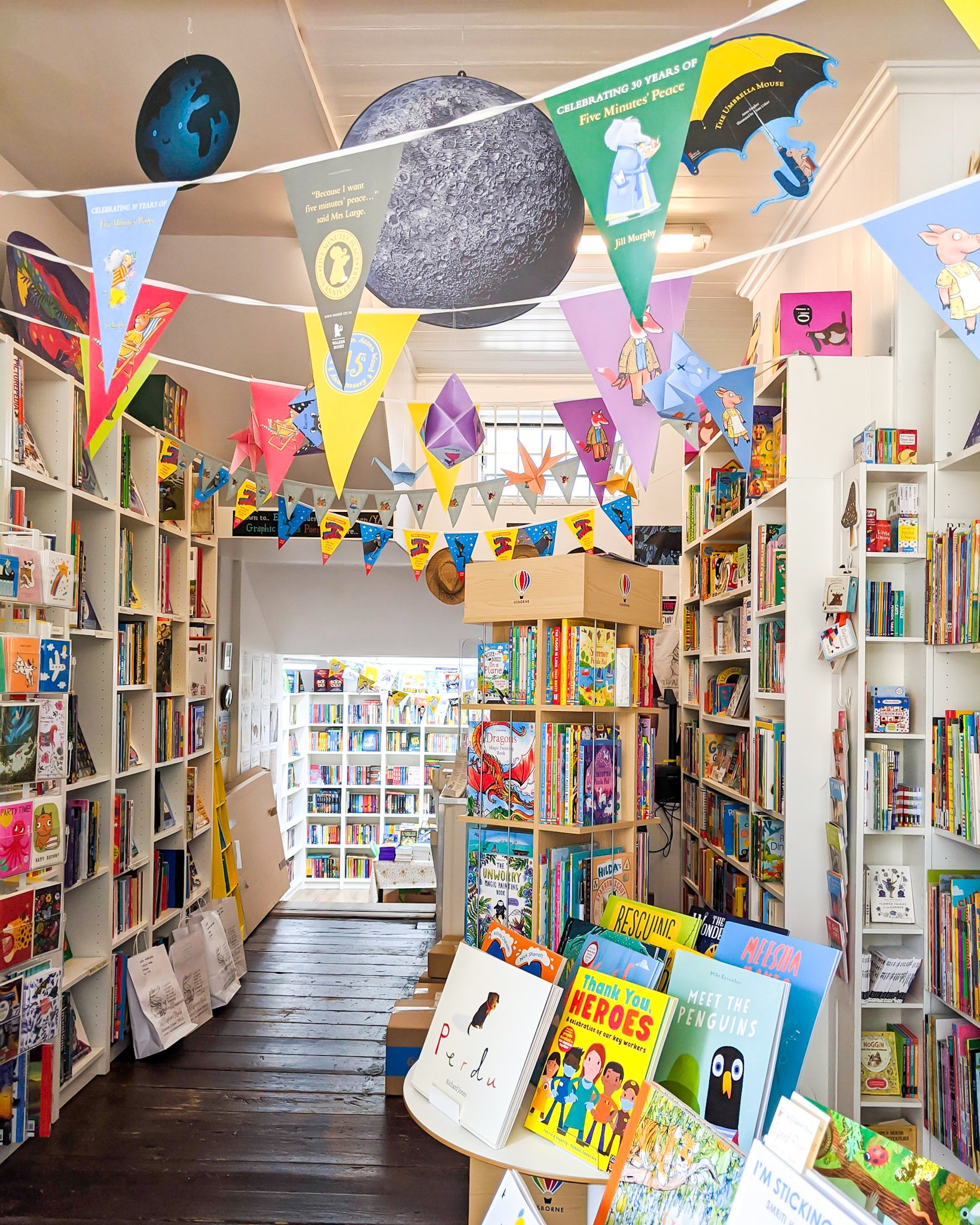 The Alligator's Mouth, Richmond, Surrey - one of many brilliant children's bookshops in Britain