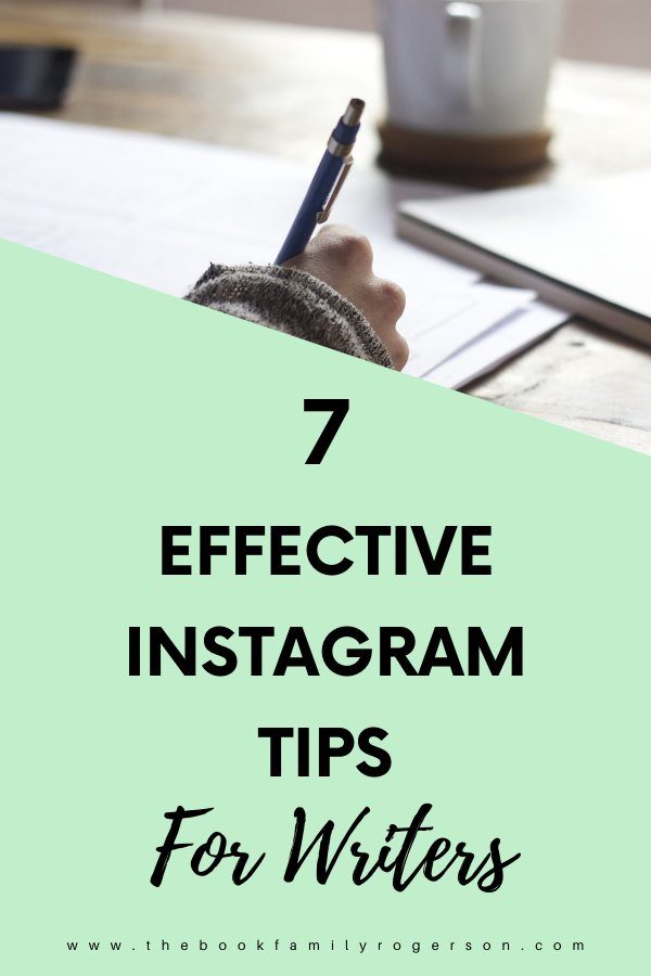 7 Effective Instagram Tips for Authors