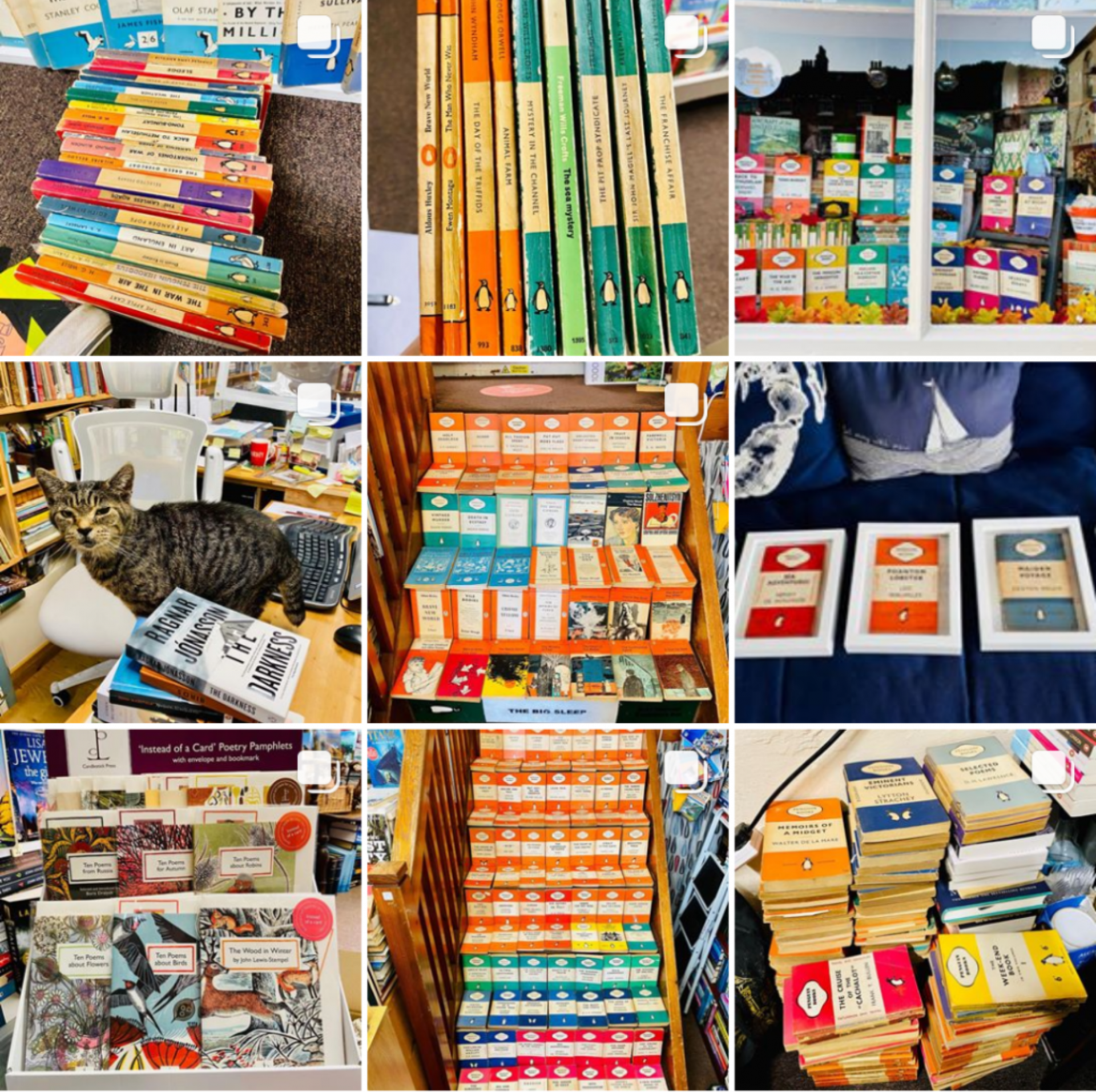 The Ironbridge Bookshop Bookstagram feed for Interview with a Bookstagrammer The Ironbridge Bookshop