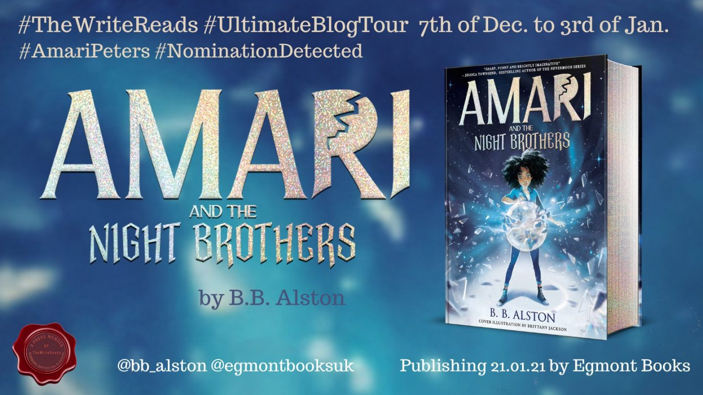 Children's Book Review: Amari and the Night Brothers by BB Alston